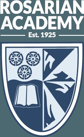 Rosarian Logo White