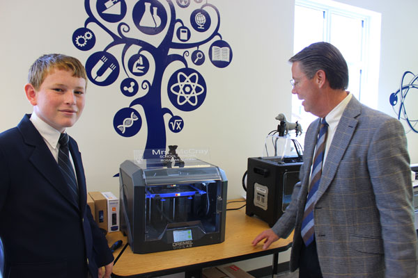 Rosarian Academy Dedicates New Innovation Center